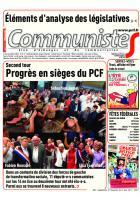 Journal CommunisteS n°686 21 juin 2017