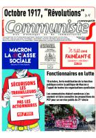Journal communisteS n°696 11 octobre 2017