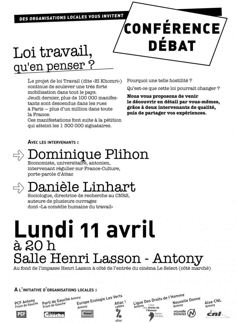 Rencontre-débat sur le projet de loi